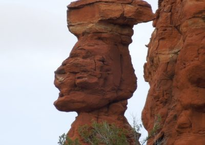 Red Rock Balancing Act